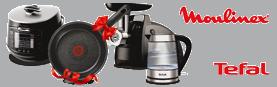 Покупайте кухонную технику TEFAL и MOULINEX – получайте подарок!