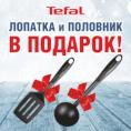 ПОДАРКИ при покупке любой блинной сковороды TEFAL!
